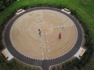 Edinburgh Labyrinth- photo by Di Williams
