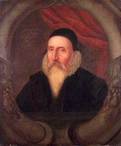 John Dee Portrait- Ashmolean Museum