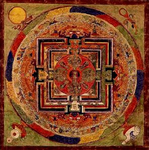 Zhi Khro Bardo Thodol: Mandala associated with The Tibetan Book of the Dead