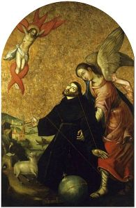 Stigmatization of St. Francis Matthias Kargen, 1664