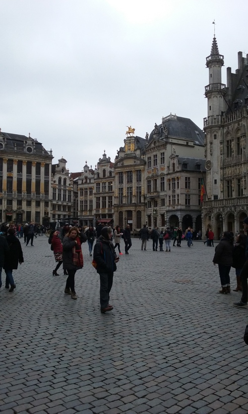 Exploring Grand Place 010